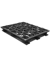40 x 48 Rackable Stackable Cross Frame Pallet - Cabka CPP 336 ACM OWS PP-O-40-RX Repose Top
