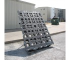 82 x 102 Stackable Jumbo Pallet - Standard -OWS PP-O-82102-S Cargo In Motion Jumbo 4Way  Standard - Standing 3-4