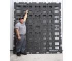 82 x 102 Stackable Jumbo Pallet - Standard -OWS PP-O-82102-S Cargo In Motion Jumbo 4Way  Standard - Standing HeadOn