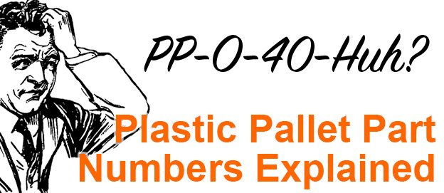 Plastic Pallet Product Numbers Explained
