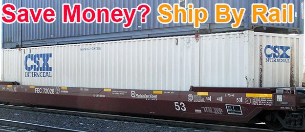 Pallets By Rail - Save Money on Pallet Freight!