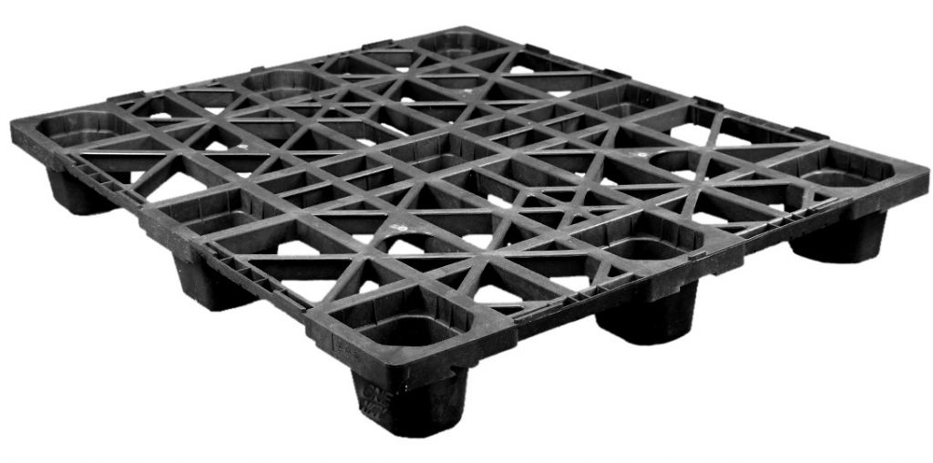 40 x 48 Nestable Plastic Pallet - Medium Duty
