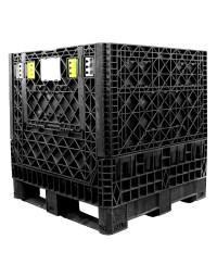 30 x 32 x 34 Collapsible Container Bin - Triple Diamond Plastics TDP-3230-34 OWS CP-S-32-C Repose