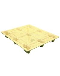 40 x 48 Molded Wood Pallet - Medium Duty Litco Inca IE134840 OWS PW-S-4048-NM Repose Top