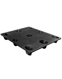 40 x 48 Nestable Solid Deck Plastic Pallet - CTC 4840-CTC-C OWS PP-S-4048-NG Repose Top