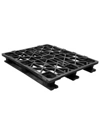40 x 48 Rackable Runner Plastic Pallet CABKA CPP333 OWS PP-O-40-RR Repose Top