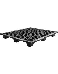 40 x 48 x 5.1 Nestable Light Duty Plastic Pallet - OWS PP-O-40-NL7 - Repose Top
