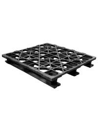 45 x 48 Stackable Rackable Automative Plastic Pallet - Assembled - Cabka CPP 533 ACM OWS PP-O-45-RR Repose Top
