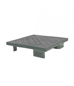24 x 24 Hercules Solid Deck Plastic Display Pallet - Rotational Molding of UT #Hercules OWS PP-S-2424-S Repose Top