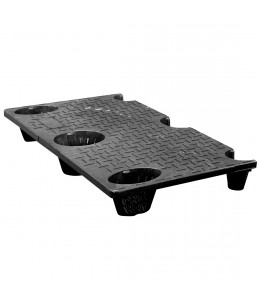 24 x 40 Nestable Plastic Pallet - CTC 4024-CTC-C OWS PP-S-2440-NG Repose Top