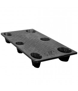 24 x 48 Nestable Solid Deck Plastic Pallet - CTC 4824-CTC-C OWS PP-S-2448-NG Repose Top