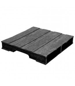 30 x 30 Heavy Duty Solid Deck Rackable Plastic Pallet - PPC ppc3030-3 OWS PP-S-3030-RC Repose Top