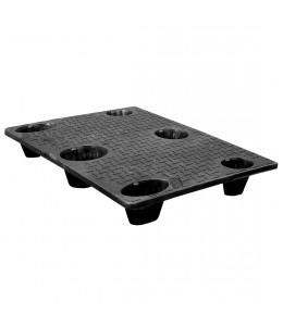 30 x 40 Nestable Solid Deck Plastic Pallet - CTC 4030-CTC-C OWS PP-S-3040-NG Repose Top