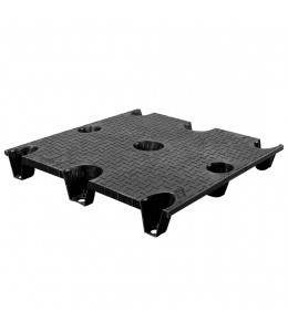 36 x 40 Nestable Plastic Pallet Solid Top - CTC 4036-CTC-C OWS PP-S-3640-NG Repose Top