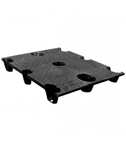 36 x 48 Nestable Solid Deck Plastic Pallet - CTC 4836-CTC-C OWS PP-S-3648-NG Repose Top