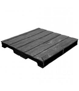 40 x 40 Heavy Duty Solid Deck Rackable Plastic Pallet - PPC ppc4040-3 OWS PP-S-4040-RC Repose Top