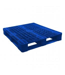 40 X 48 Eco US5 FDA Rackable Plastic Pallet - Blue - CABKA ECO US5 OD-6R-Blue OWS PP-O-40-Eco1FDA repose