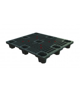 40 x 48 Neptune Nesable Medium Duty Plastic Pallet Plasgad PG4840 OWS PP-O-40-NM8 Repose Top