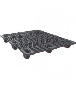 40 x 48 Nestable Plastic Pallet Light Duty - Plasgad Pallet 107 OWS PP-O-40-NLP Repose Top