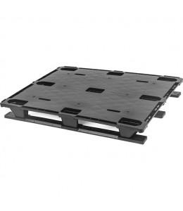 40 x 48 Nestable Plastic Pallet Light Duty, Closed Deck - Plasgad Pallet 107 CD OWS PP-S-40-NLP Repose Top