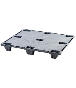 40 x 48 Nestable Plastic Pallet Light Duty, Closed Deck - Plasgad Pallet 110 CD OWS PP-S-40-NL9 Repose Top