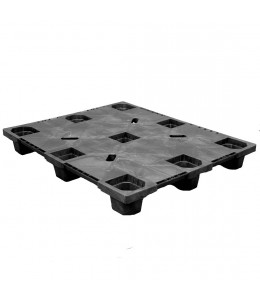 40 x 48 Nestable Solid Deck Plastic Pallet - CABKA CPP320C OWS PP-S-40-NL3 Repose Top