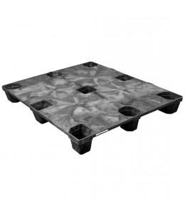 40 x 48 Nestable Solid Deck Plastic Pallet - Triple Diamond Plastics TDP-S-40-NM OWS PP-S-40-NM Repose Top
