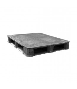 40 x 48 Rackable Plastic Solid Deck Plastic Pallet Polymer Solutions 8310HDPE OWS PP-S-40-R7 repose top