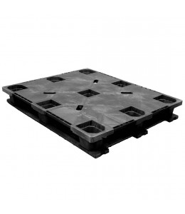 40 x 48 Rackable Solid Deck Cross Plastic Pallet -CABKA Nest US5.1 (CD-6R) CPP326C OWS PP-S-40-RX Repose Top