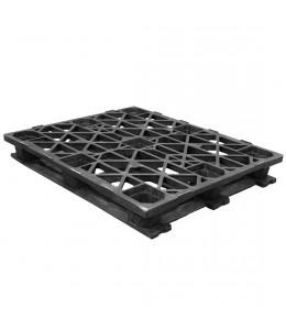 40 x 48 Rackable Stackable Cross Frame Pallet - Cabka CPP 336 ACM OWS PP-O-40-RX Repose Top