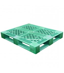 40 x 48 Rackable Stackable FDA Pallet - Green - Polymer Solutions Progenic 6  OWS PP-O-40-R5FDA-Green Repose Top