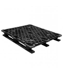 40 x 48 Stackable Ex-Pal 4 Plastic Pallet - Assembled - Cabka CPP 103 ACM OWS PP-O-40-RL4A Repose Top