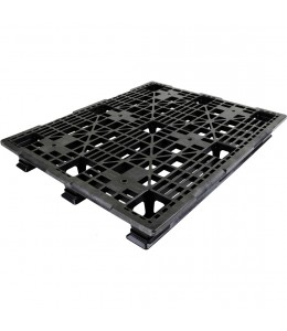 40 x 48 Stackable Med-Heavy Duty Plastic Pallet - Assembled OWS PP-O-40-SH7A - Repose Top