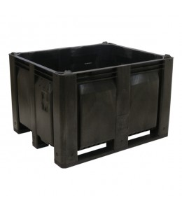 40 x 48 x 31 Solid Wall Container Bin Decade Full M40SBK1 MACX Solid Black LS Bin OWS CP-S-40-F-Black