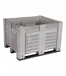 40 x 48 x 31 Vented Container Bin OWS CP-O-40-F Decade D48PGY02BK