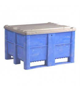 40 x 48 x 3 Grey Lid - For Dolav 1000 or KitBins - Grey _ One Way Solutions # LID-484003-Grey _ Decade 500050