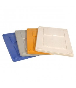 48 x 40 Top Cap for CP-S-40 Series Plastic Containers 500200-GY-Top-Cap OWS 500200-Grey Top Repose