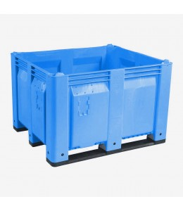 40 x 48 x 31 Blue Solid Wall Container Bin Decade Full MACX Solid Blue LS Bin M40SBL1 OWS CP-S-40-F-Blue
