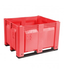 40 x 48 x 31 Red Solid Wall Container Bin Decade Full MACX Solid Red LS Bin M40SRD1 OWS CP-S-40-Red