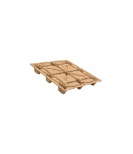 42 x 42 Molded Wood Pallet - Export Ready - Light Duty - OWS PW-S-4242-NL Licto IE144242 - Repose Top