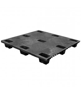 42 x 42 Nestable Solid Deck Plastic Pallet High Grade- CTC 4242-CTC-C-B OWS PP-S-4242-NG-B Repose Top