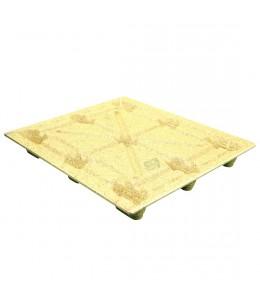 42 x 48 Molded Wood Pallet - Medium Duty - Litco Inca IE134842 OWS PW-S-4248-NM Repose Top