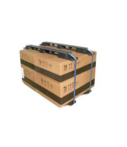 "48"" Plastc Pallet Strapping Beams - CABKA SB-48-1 - OWS SB-48-1 - Repose Top Laden"