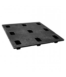 48 x 48 Nestable Solid Deck Plastic Pallet - CTC 4848-CTC-C OWS PP-S-48-N2 Repose Top