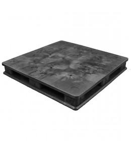 48 x 48 Solid Deck Rackable Plastic Pallet - RPM 4848RRB OWS PP-S-48-S2 Repose Top