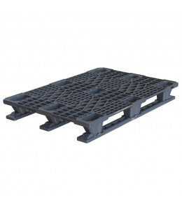 32 x 48 Stackable Plastic Euro Pallet Plasgad Dipl8 OWS PP-O-32-R5 Repose Top