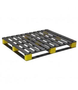 45 x 45 Rackable, Stackable Composite FDA FM Plastic Pallet - Repose Top