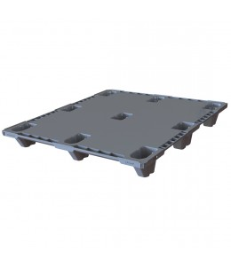 40 x 48 Nestable Plastic Pallet Ultra Light Duty, Closed Deck - Plasgad Pallet 107 CD OWS PP-S-40-NLP Repose Top