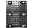 30 x 40 Nestable Solid Deck Plastic Pallet - CTC 4030-CTC-C OWS PP-S-3040-NG Standing Bottom