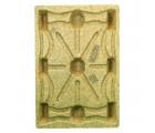 32 x 48 Molded Wood Pallet - Litco Inca IE114832 OWS PW-S-3248-NX Standing Top HeadOn
